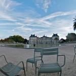 Der Jardin du Luxembourg um 7.00 Uhr morgens