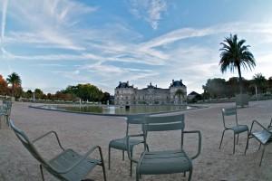 Jardin du Luxembourg, 7h le matin